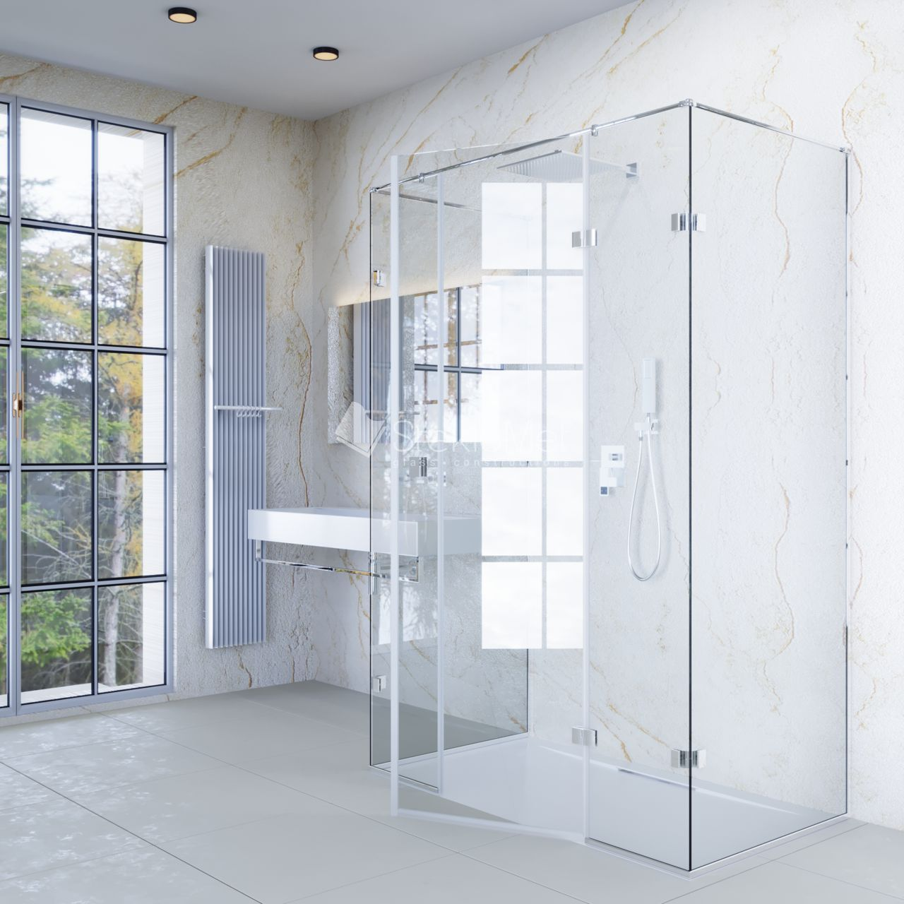Душевая кабина StekloMet серия Shower Mini SM-090503.04R